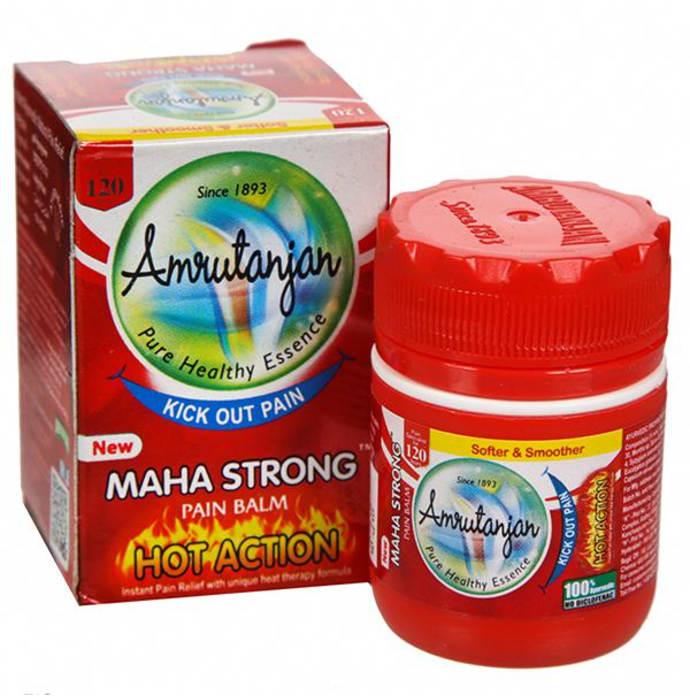 Amrutanjan Maha Strong Pain Balm