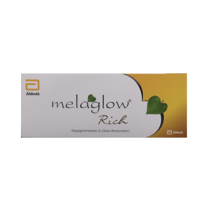 Melaglow Rich Depigmentation and Glow Restoration Cream