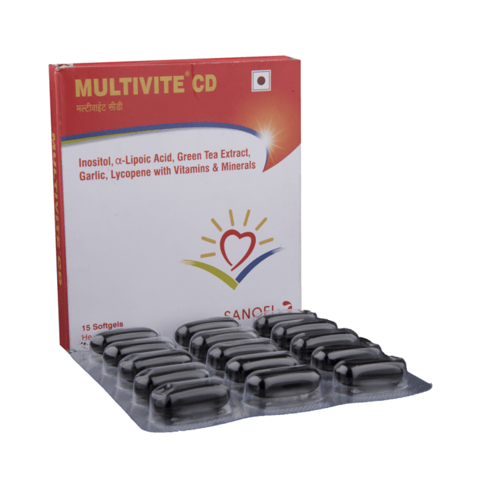 Multivite CD Softgels