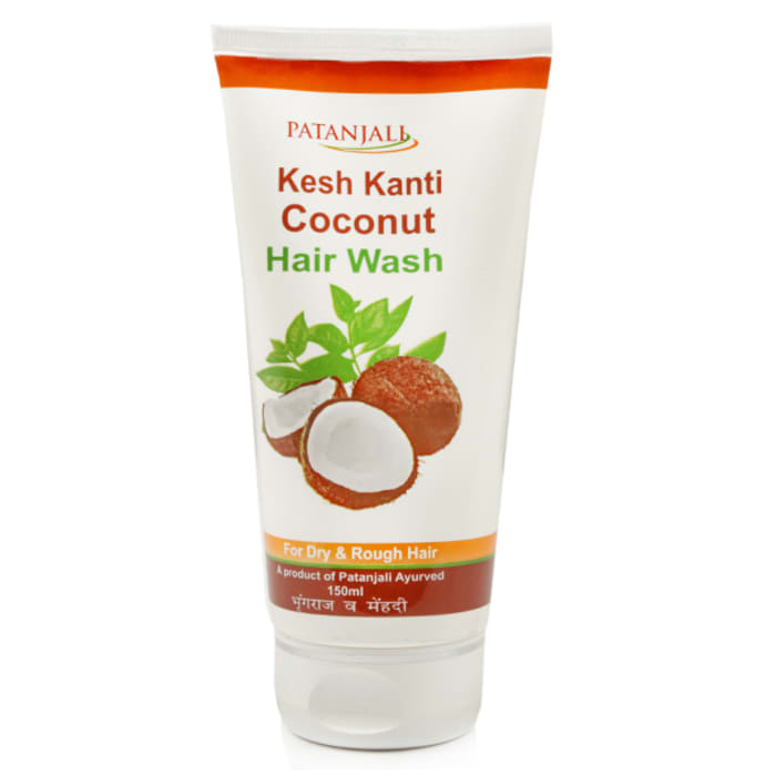 Patanjali Ayurveda Coconut  Hair Wash Pack of 4
