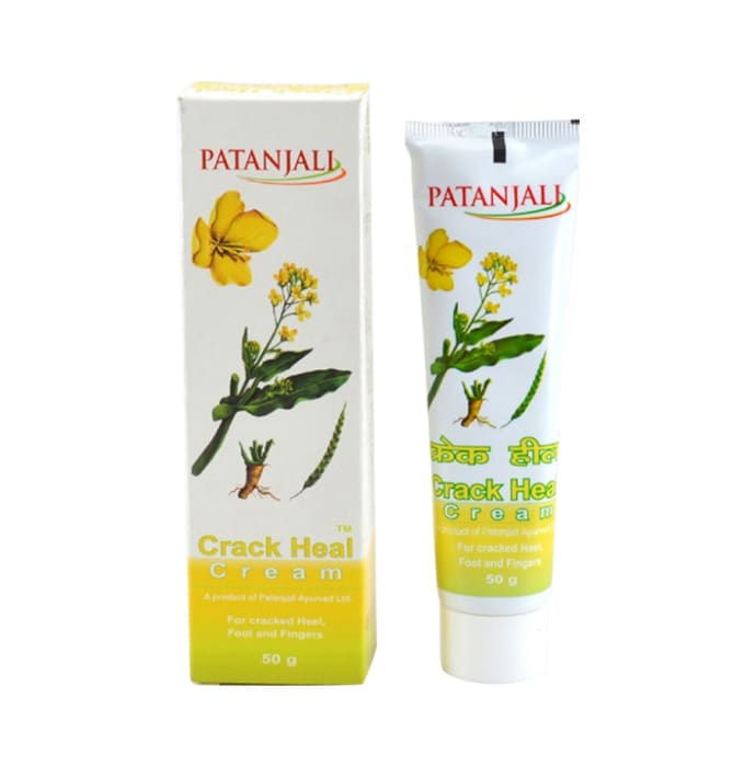 Patanjali Ayurveda Crack Heal Cream Pack of 7
