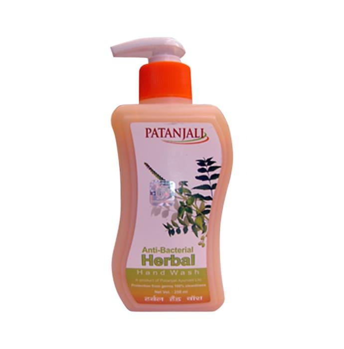 Patanjali Ayurveda Anti-Bacterial Herbal Handwash Pack of 7