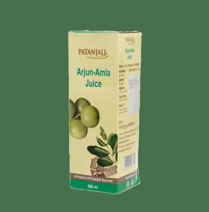 Patanjali Ayurveda Arjun-Amla Juice Pack of 5
