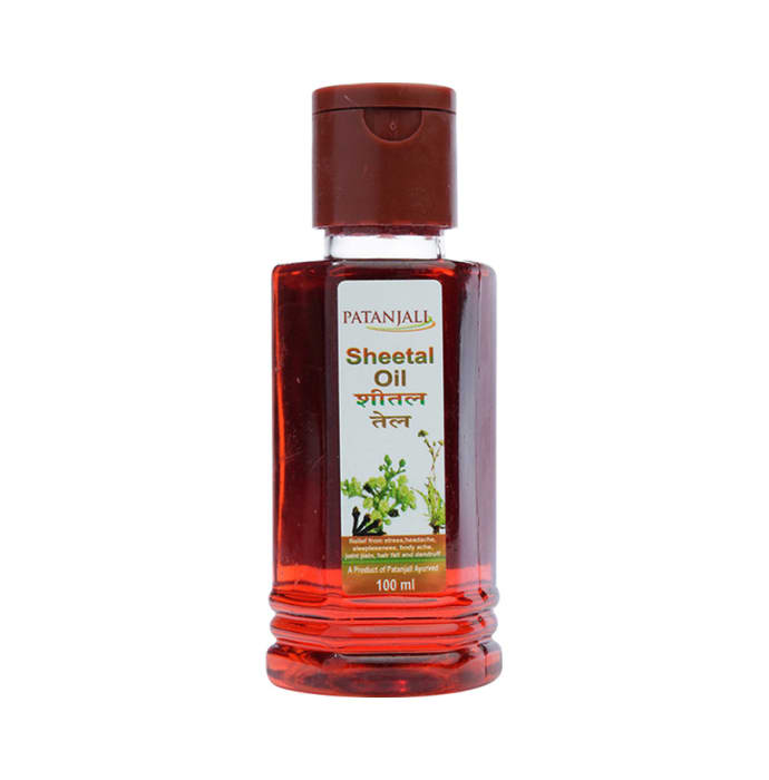Patanjali Ayurveda Sheetal Oil Pack of 7