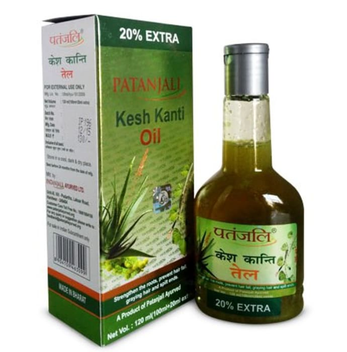 Patanjali Ayurveda Kesh Kanti Hair Oil Pack of 3