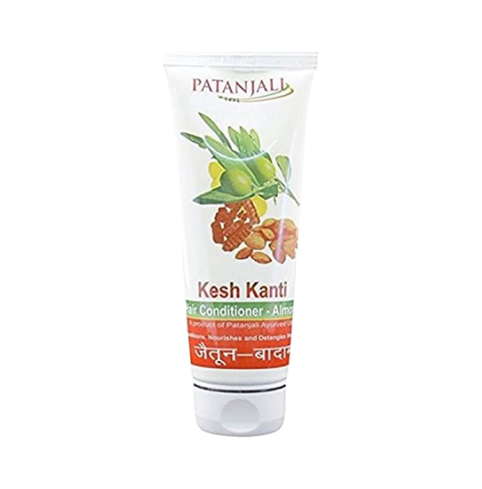 Patanjali Ayurveda Kesh Kanti Almond Olive Hair Conditioner Pack of 7