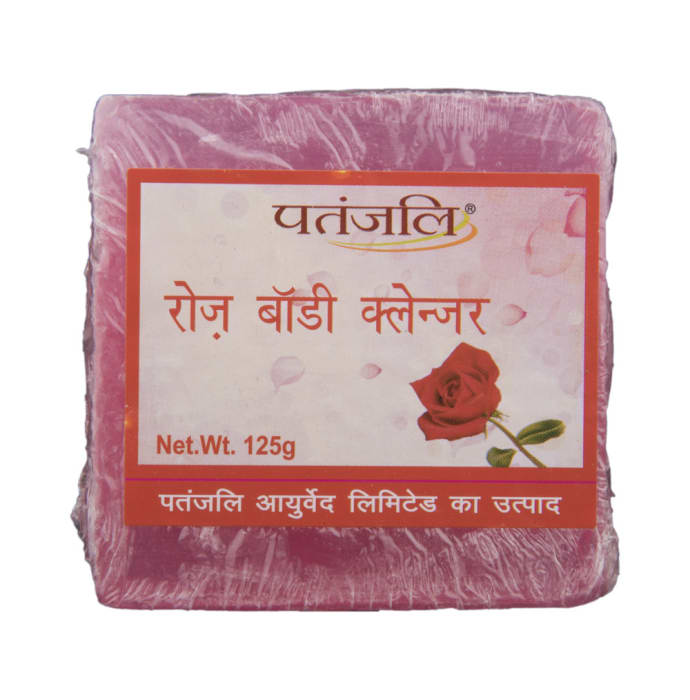 Patanjali Ayurveda Rose Body Cleanser Pack of 9
