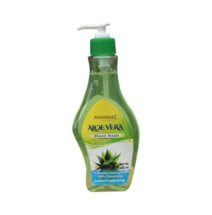Patanjali Ayurveda Aloe Vera Hand Wash Pack of 7