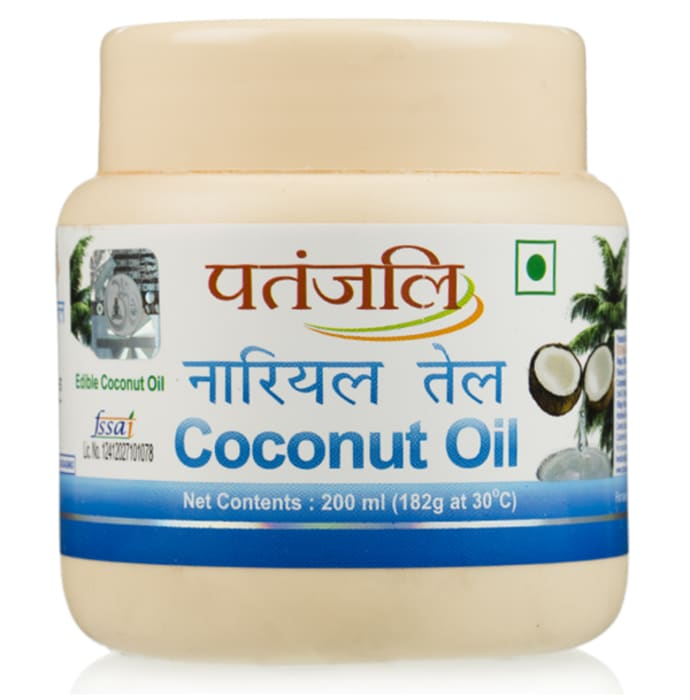 Patanjali Ayurveda Coconut Oil Pack of 5