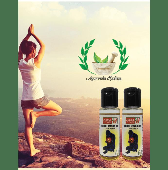 Sandhi Jeevan Oil Pack of 2