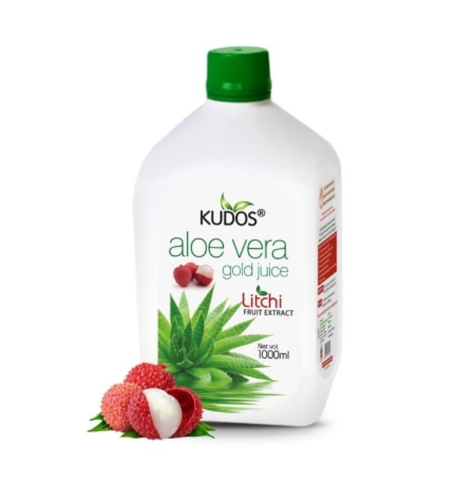 Kudos Aloevera Gold Juice with Litchi Extract