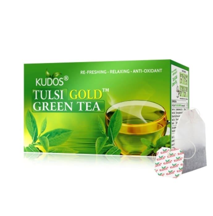 Kudos Tulsi Gold Green Tea (2gm)