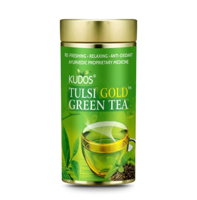 Kudos Tulsi Gold Green Tea