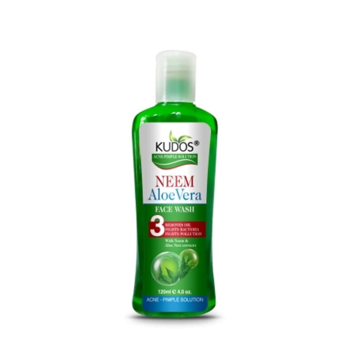 Kudos Neem Aloevera Face Wash Pack of 2