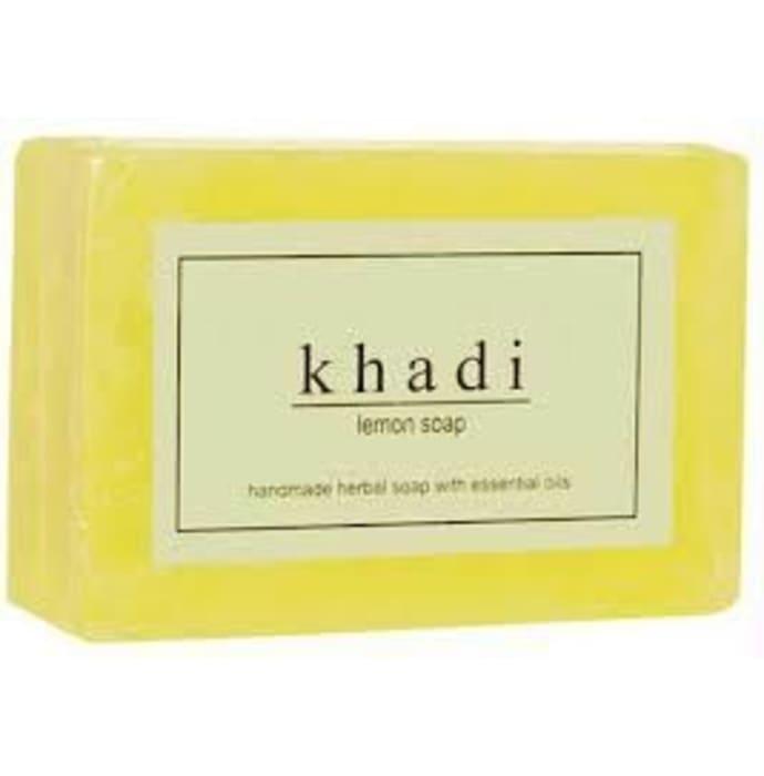 Khadi Herbal Lemon Soap Pack of 2