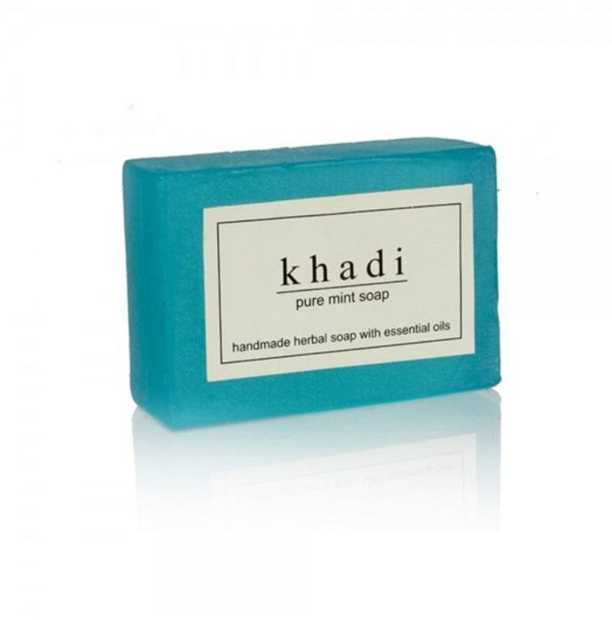 Khadi Herbal Mint Soap Pack of 2