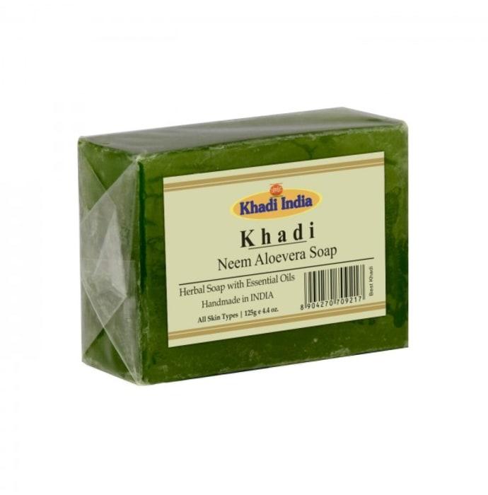 Khadi Herbal Neem Aloevera Soap