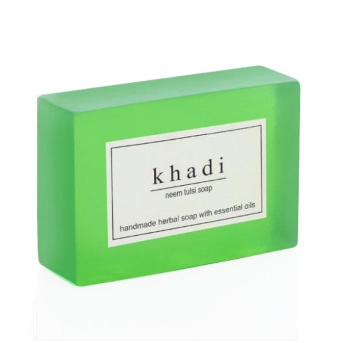 Khadi Herbal Neem Tulsi Soap Pack of 2