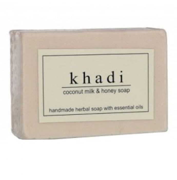 Khadi Herbal Coconut Milk & Honey Soap Pack of 2