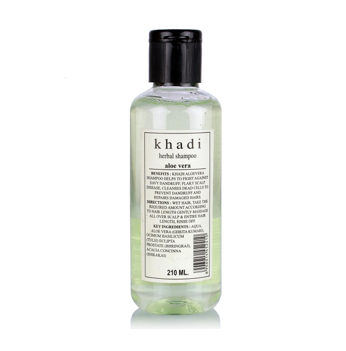 Khadi Herbal Aloe Veera Almond Oil With Honey Herbal Conditioner Shampoo