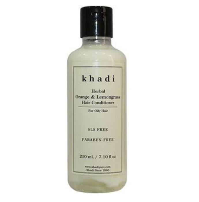 Khadi Herbal Orange & Lemongrass Hair Conditioner SLS-Paraben Free Conditioner