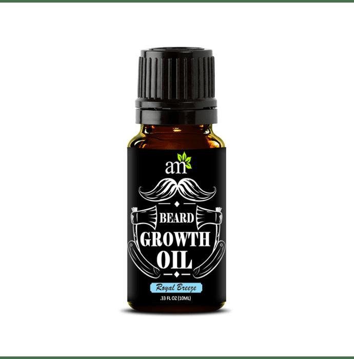AromaMusk 100% Natural Beard Growth Oil Royal Breeze