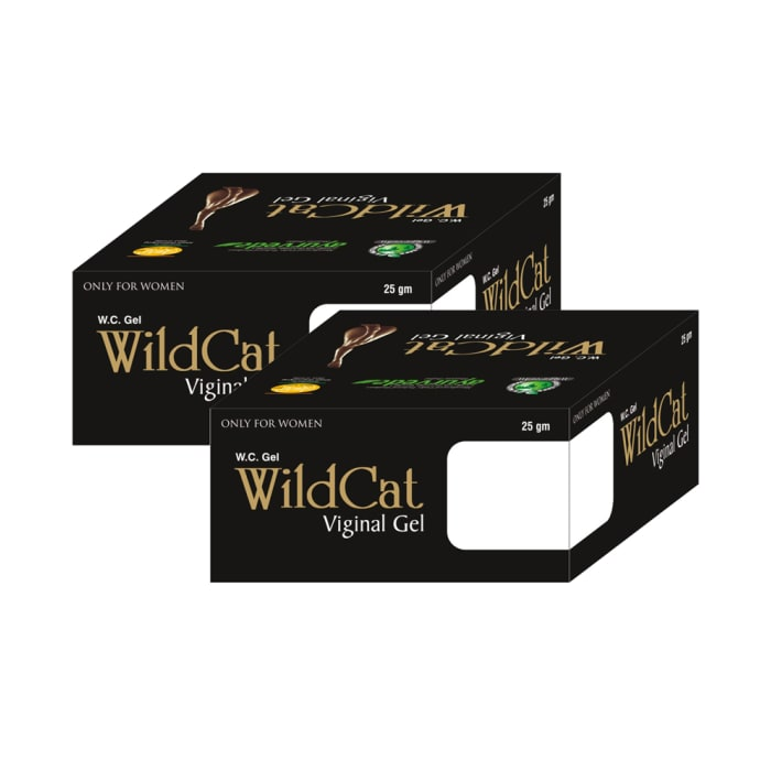MahaVed Wild Cat Gel Pack of 2
