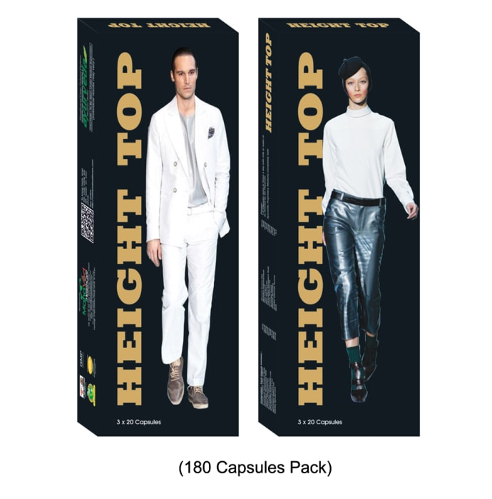 MahaVed Height Top Capsule Pack of 3
