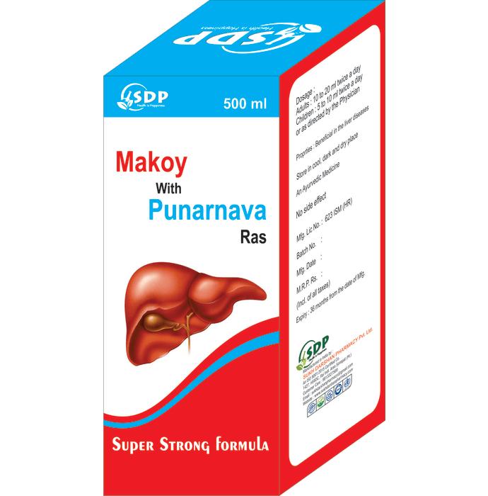Sukh Makoy with Punarnava Ras
