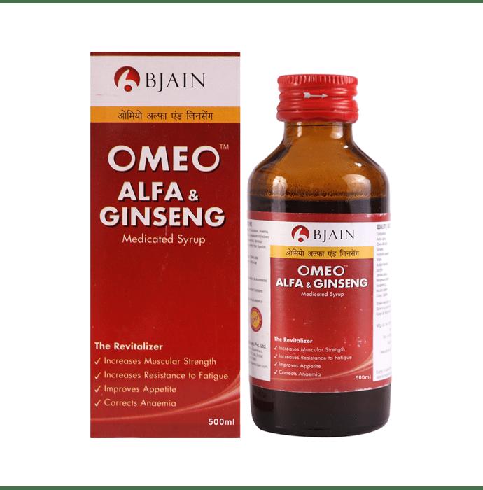Bjain Omeo Alfa & Ginseng Syrup