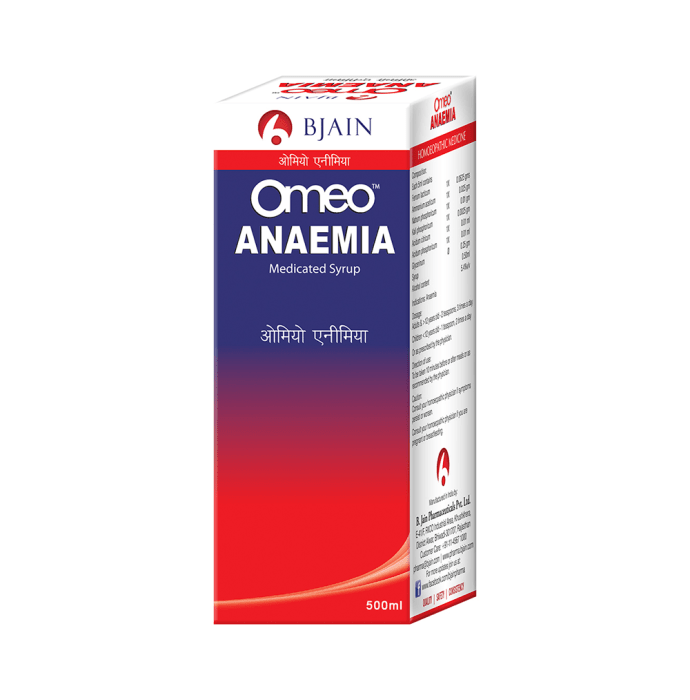 Bjain Omeo Anemia Syrup