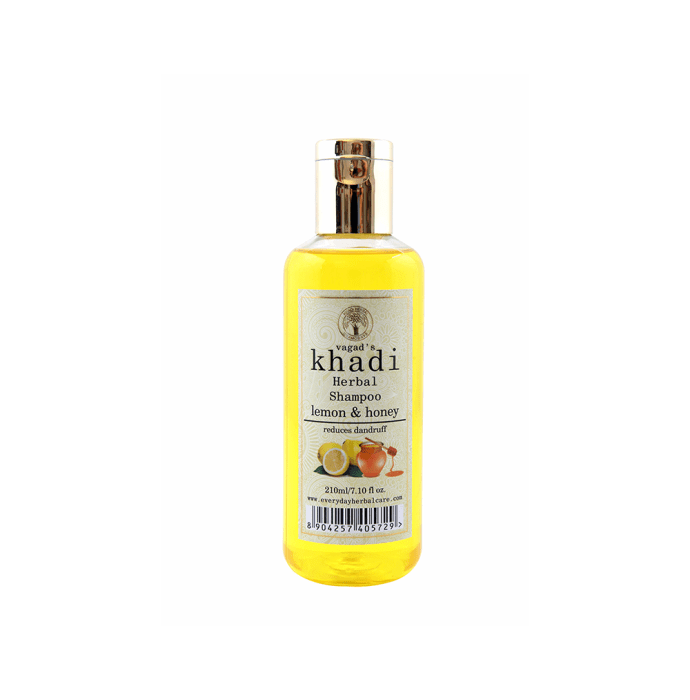 Vagad's Khadi Lemon & Honey Herbal Shampoo