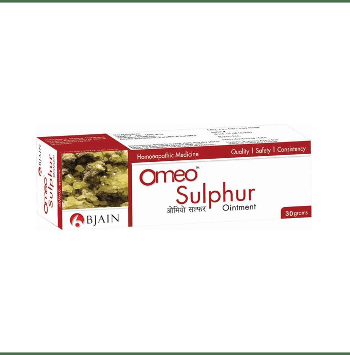 Bjain Omeo Sulphur Ointment