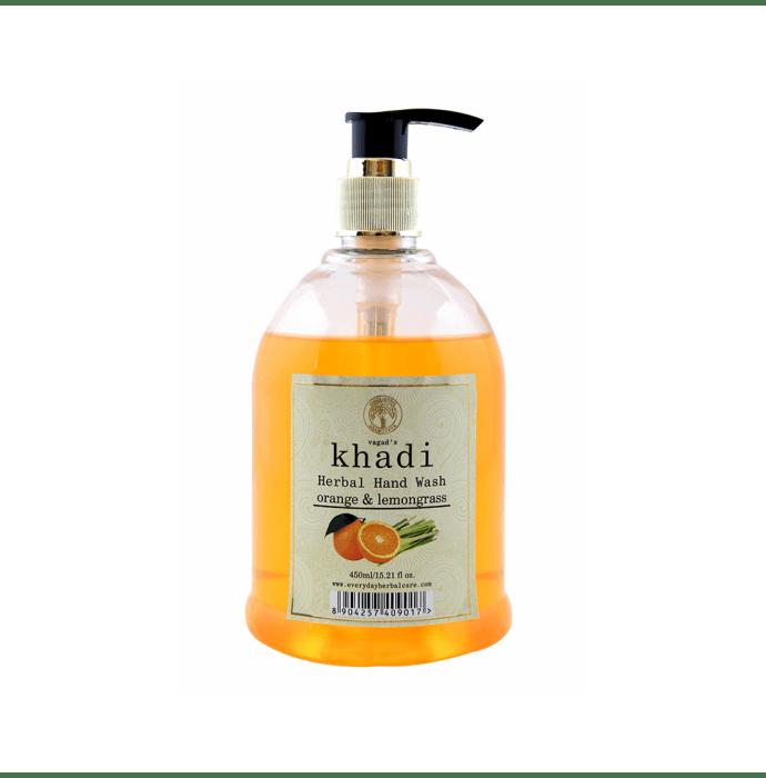 Vagad's Khadi Orange & Lemongrass Herbal Handwash