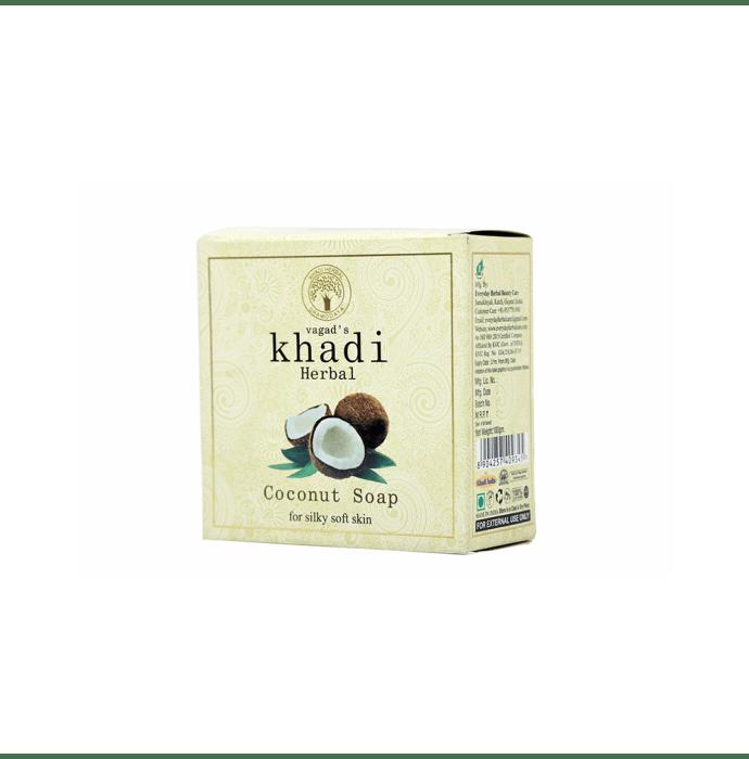 Vagad's Khadi Herbal Coconut Soap Pack of 2