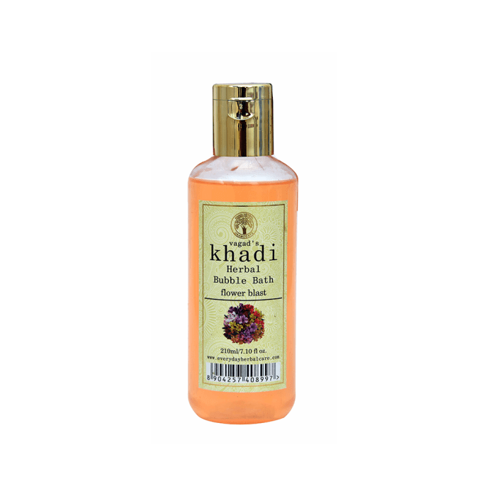 Vagad's Khadi Flower Blast Herbal Bubble Bath