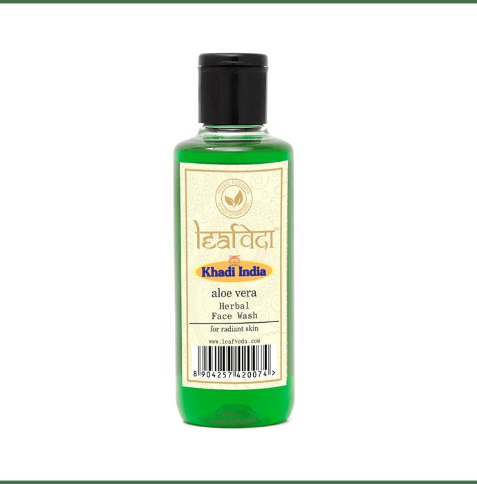 Khadi Leafveda Herbal Aloe Vera Face Wash