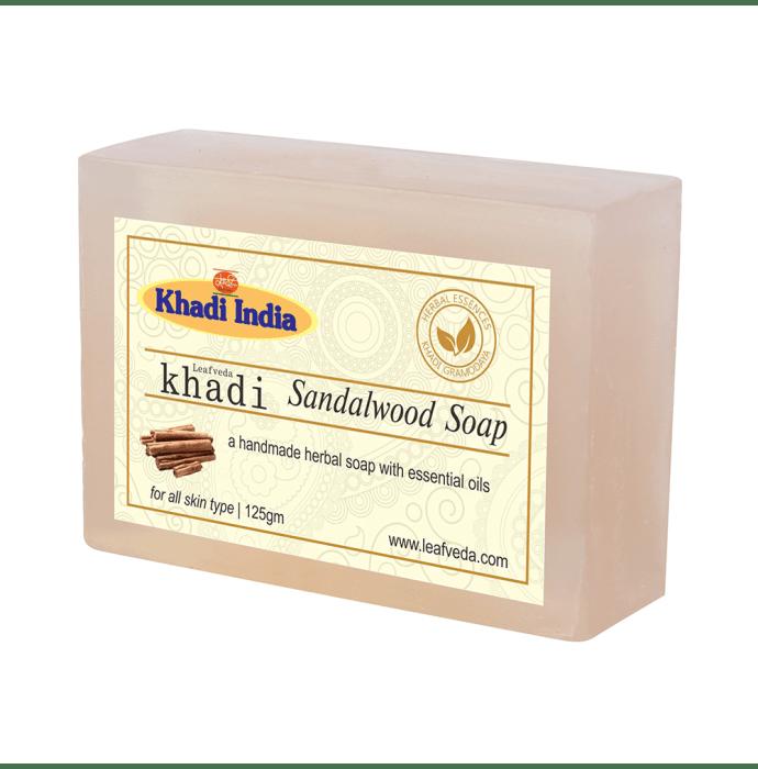 Khadi Leafveda Sandalwood Soap Pack of 2