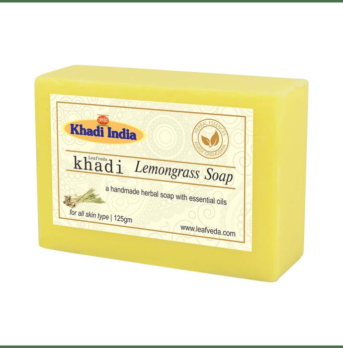Khadi Leafveda Lemongrass Soap Pack of 2