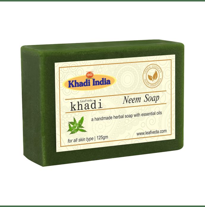 Khadi Leafveda Neem Soap Pack of 2