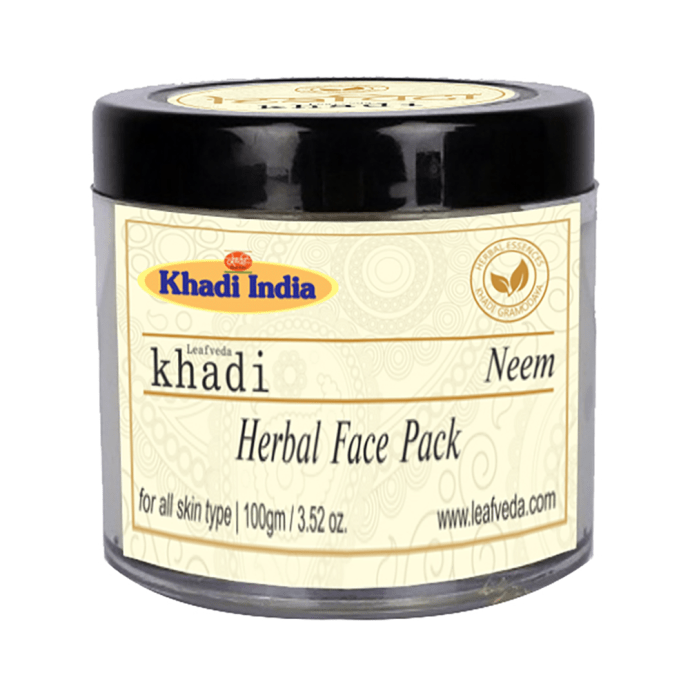 Khadi Leafveda Neem Herbal Face Pack