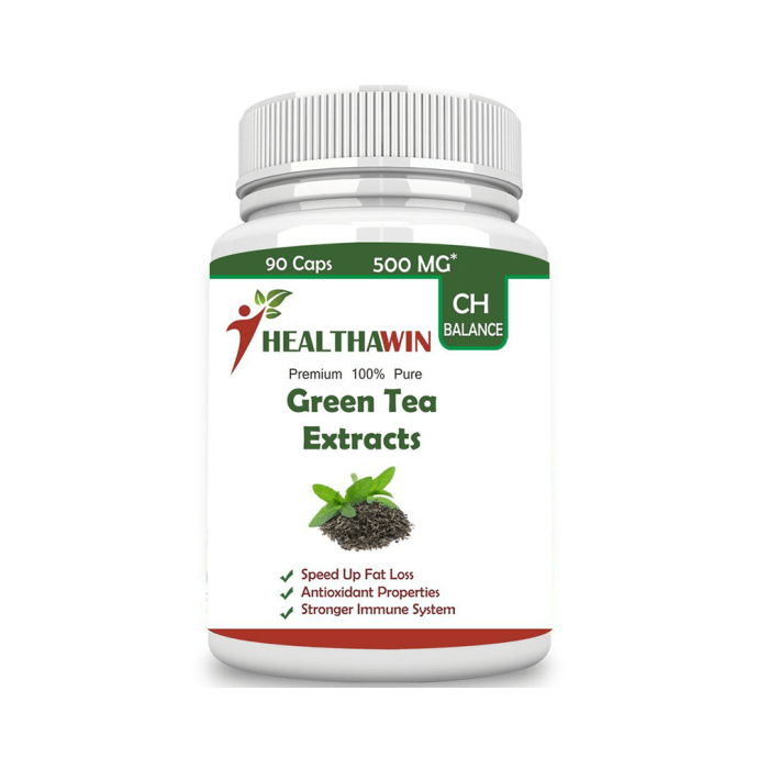 Healthawin Green Tea Extracts 500mg Capsule