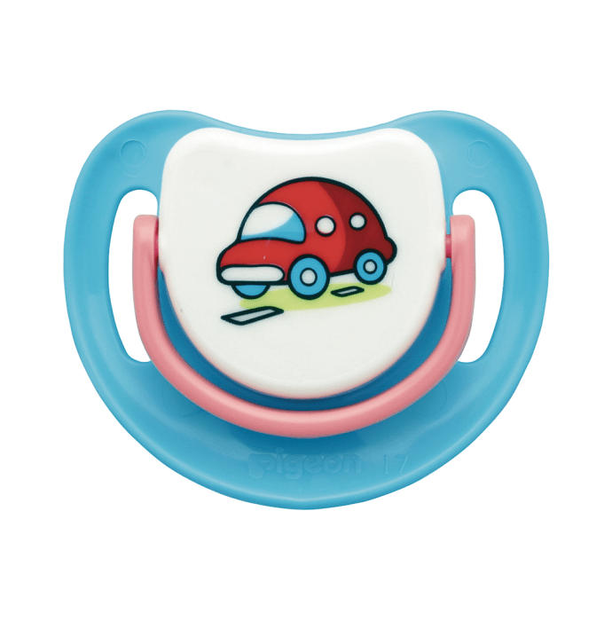 Pigeon Silicone Pacifier Step 1, Car