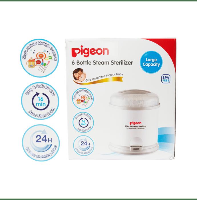 Pigeon 6 Bottle Steam Sterilizer