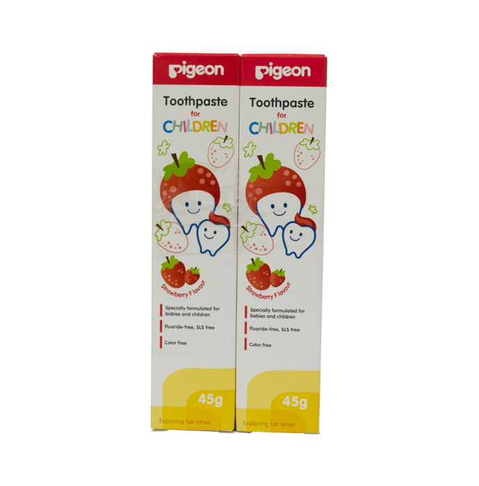 Pigeon Children Toothpaste Strawberry Pack of 2