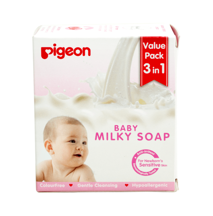 Pigeon Baby Milky Soap Value Pack 3 in 1