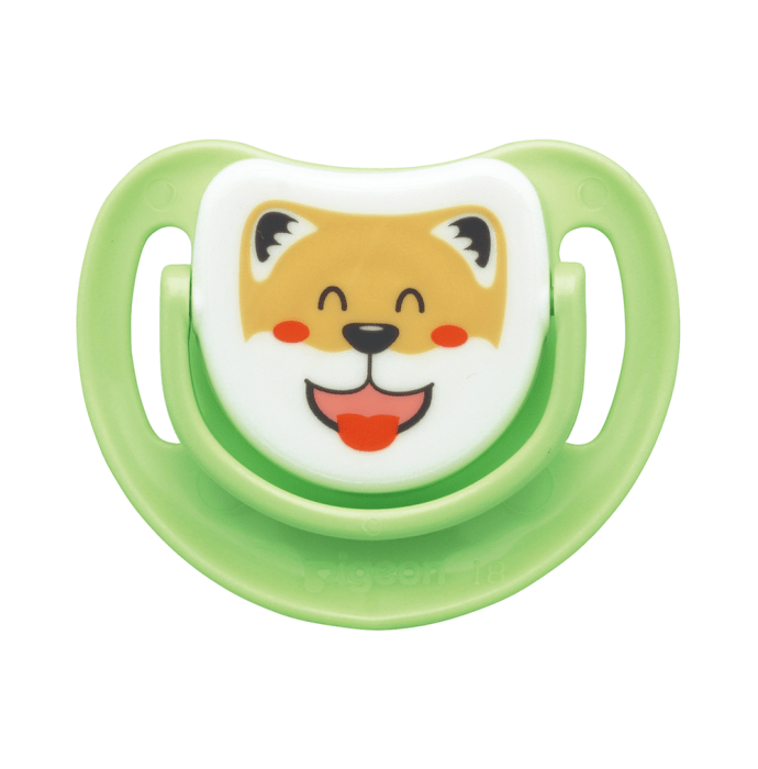 Pigeon Silicone Pacifier Step 3, Dog