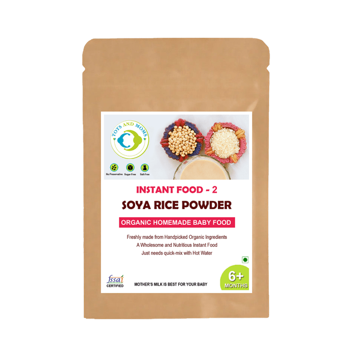 Tots and Moms Instant Soya Rice Powder