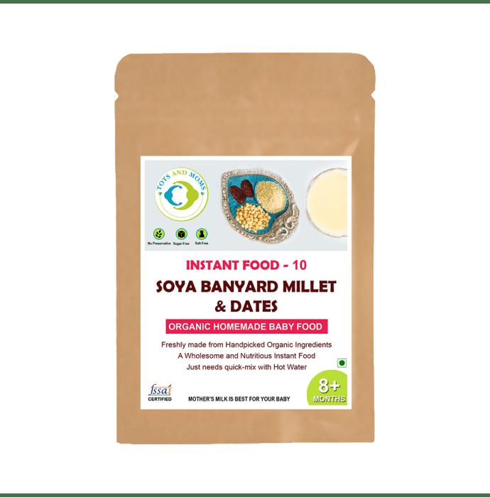Tots and Moms Instant Soya Banyard Millet & Dates Powder