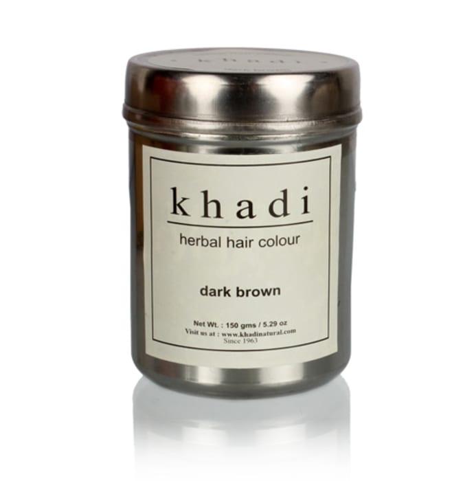 Khadi Naturals Ayurvedic Henna Colour Dark Brown